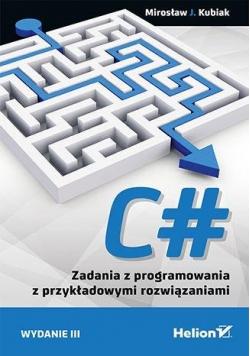 C#. Zadania z programowania z przykładowymi... w.3
