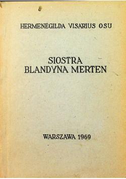 Siostra Blandyna Merten