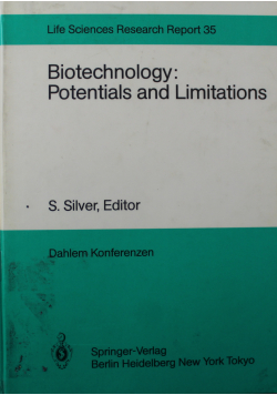 Biotechnology potentials and limitations