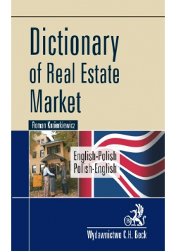 Dictionary of Real Estate Market English Polish