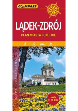 Plan miasta Lądek-Zdrój i okolice 1:15 000 w.2020