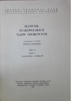 Słownik staropolskich nazw osobowych