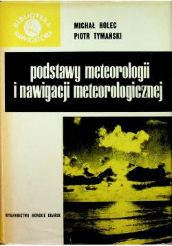 Podstawy meteorologii i nawigacji meteorologicznej