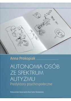 Autonomia osób ze spektrum autyzmu