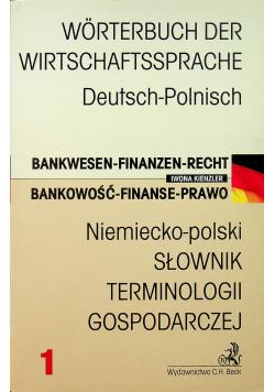 Niemiecko polski Słownik terminologii gospodarczej
