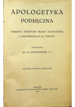 Apologetyka podręczna 1923r