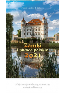 Kalendarz 2021 Reklamowy Zamki i pałace RW3