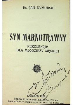 Syn marnotrawny 1927 r.