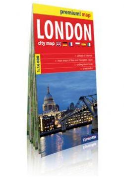 Premium!map London ( Londyn ) 1:16 000 plan miasta