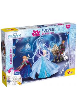 Puzzle dwustronne Plus 24 Frozen