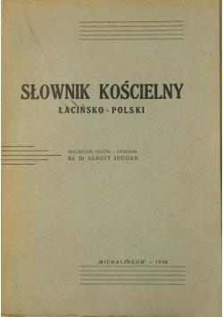 Jougan Alojzy - Słownik kościelny 1948 r.