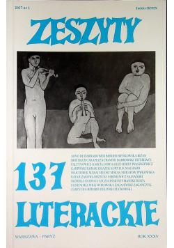 Zeszyty literackie 137