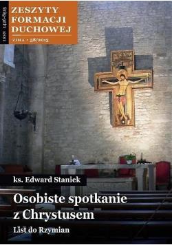 Zeszyty Formacji Duchowej nr 58 Osobiste...