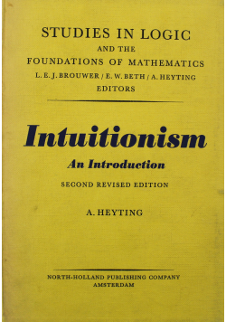 Intuitionism an Introduction