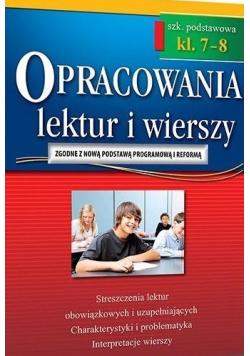 Opracowania SP 7 8 lektur i wierszy w.2018 GREG