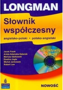 Longman Słownik współczesny angielsko  polski polsko angielski plus CD