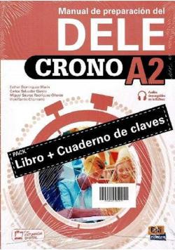 Crono DELE A2 Podręcznik do nauki języka hiszpańskiego + zawartość online