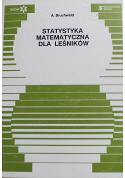 Statystyka matematyczna dla leśników