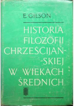 Historia filozofii chrześcijańskiej