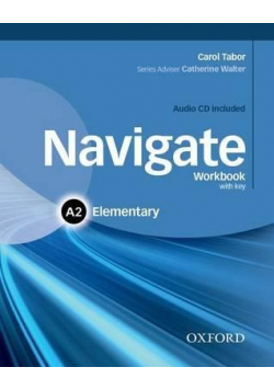 Navigate Workbook with key A2 Elementary