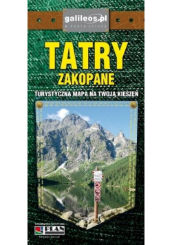 Plan kieszonkowa - Zakopane, Tatry