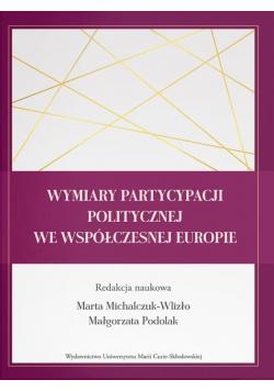 Wymiary partycypacji politycznej we...