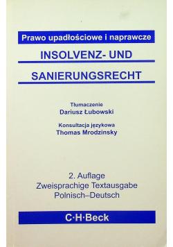 Prawo upadłościowe i naprawcze Insolvenz und Sanierungsrecht