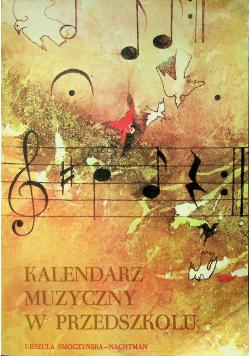 Kalendarz muzyczny w przedszkolu