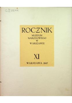 Rocznik Muzeum Narodowego w Warszawie XI