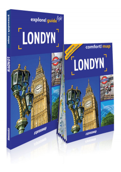 Londyn light przewodnik + mapa