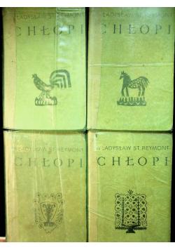 Chłopi 4 książki
