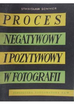 Proces negatywowy i pozytywowy w fotografii