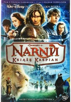Opowieści z Narnii Książe Kaspian płyta DVD NOWA