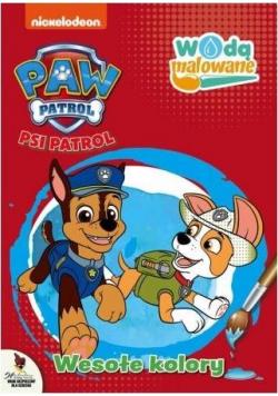 Psi Patrol. Wodą malowane. Wesołe kolory
