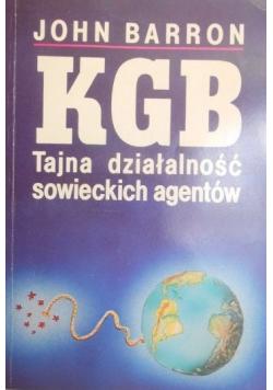 KGB Tajna działalność sowieckich agentów