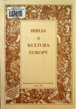 Biblia a kultura Europy Tom II