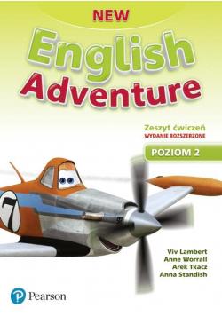 English Adventure New 2 AB wyd. roz. 2020 PEARSON