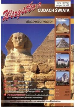 Wszystko o cudach świata Atlas Informator
