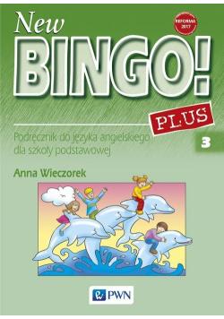New Bingo! 3 Plus Podręcznik do języka angielskiego