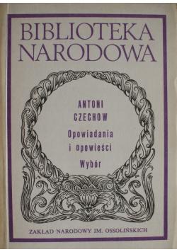 Czechow Opowiadania i opowieści Wybór