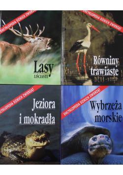 Encyklopedia dzikich zwierząt Tom 1 do 4