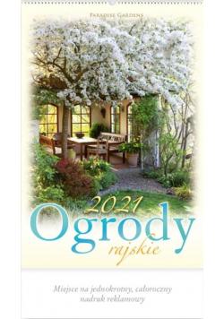 Kalendarz 2021 Reklamowy Ogrody Rajskie RW11