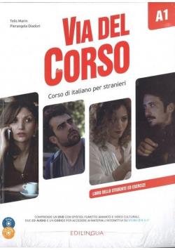 Via del Corso A1 podręcznik + 2CD + DVD EDILINGUA