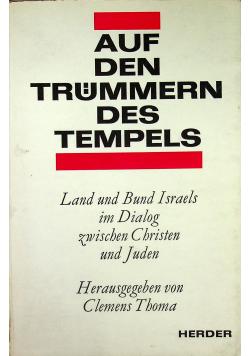 Auf den trummern des tempels