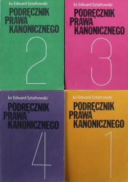 Podręcznik prawa kanonicznego 4 Tomy
