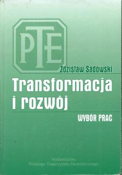Transformacja i rozwój Wybór prac