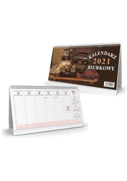 Kalendarz 2021 biurkowy poziomy SB1 SAPT
