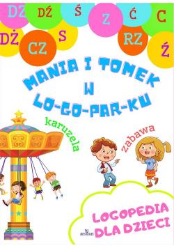 Logopedia dla dzieci Mania i Tomek w logoparku