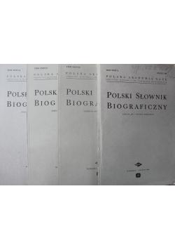 Polski Słownik Biograficzny Tom XXXV 4 zeszyty