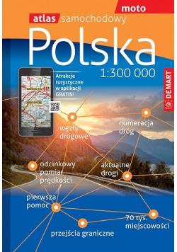 Atlas samochodowy - Polska 1: 300 000 DEMART